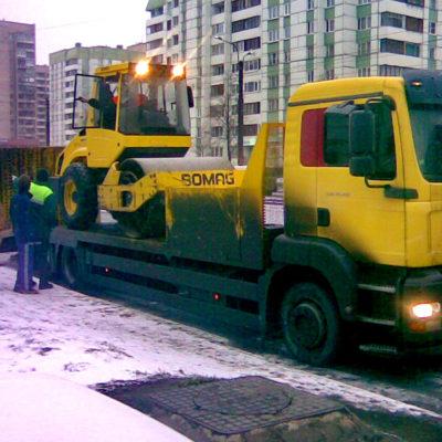 перевозка катков СПб